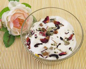 Image result for rose petal honey and milk cream pic