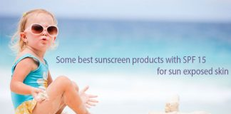Best SPF 15 Sunscreen Products