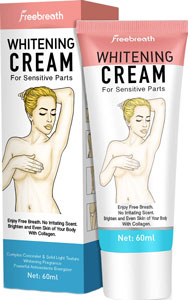 Free Breath Whitening Cream for Private Skin
