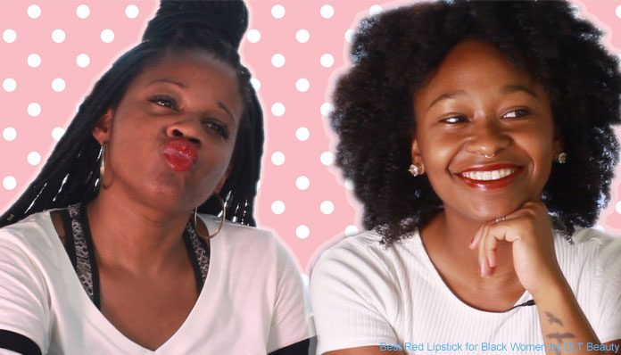 Best Red Lipstick for Black Women