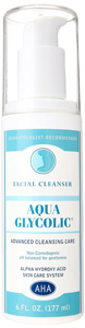 glycolic facial cleansers