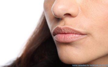 home remedies for facial hair