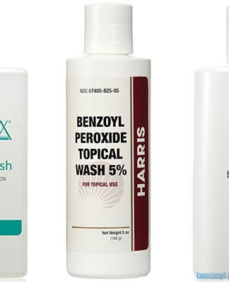 All Natural Benzoyl Peroxide Face Wash