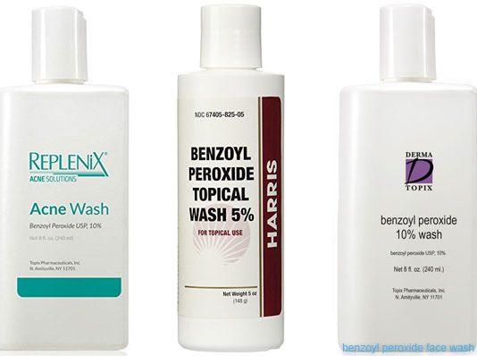 benzoyl peroxide face wash