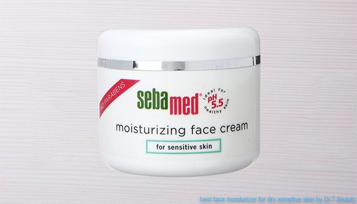 Sensitive skin facial cream