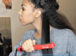 how to choose the best flat iron for natural hair