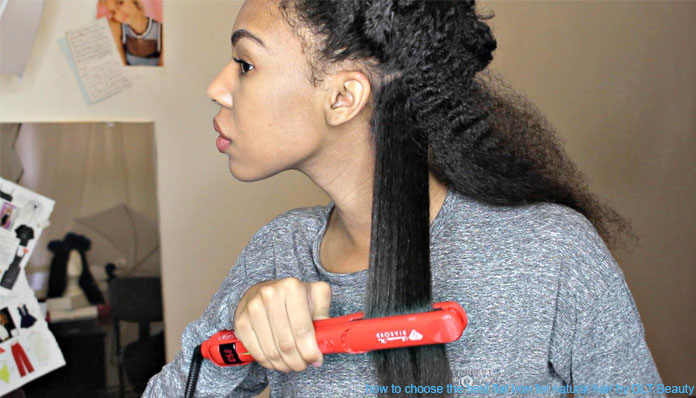 How To Choose The Best Flat Iron For Natural Hair Dlt Beauty