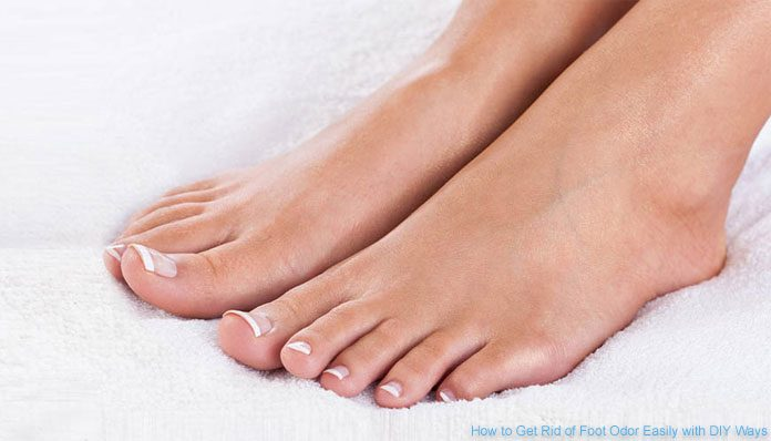How To Get Rid Of Foot Odor Easily With Diy Ways Dlt Beauty