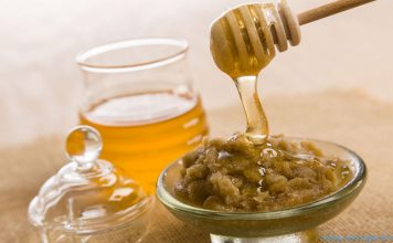 honey and sugar lip scrub