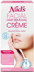 best facial hair removal cream for sensitive skin